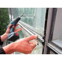 Устранение протечек в стеклянных конструкциях