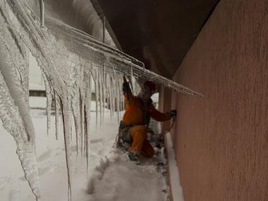 По очистке крыш от снега