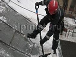 Очистка крыш от снега щелково