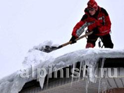 Очистка крыш от снега санкт-петербург